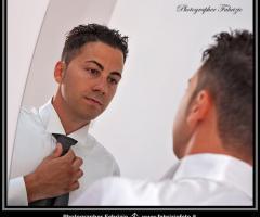 Fabrizio Foto - Lo sposo si prepara