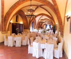 Castello di Cortanze - La sala del ricevimento
