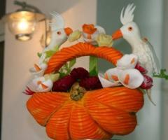 Decorazione per il buffet di nozze