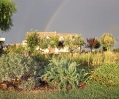 Masseria Bonelli - Vista panoramica con arcobaleno