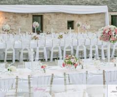 Masseria Bonelli -  I tavoli degli invitati