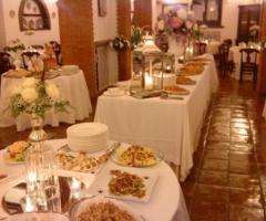 Villa del Vecchio Pozzo - Tavoli apparecchiati per il ricevimento di matrimonio