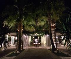 Matrimonio sotto il gazebo