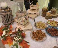 Luisa Mascolino Wedding Planner Sicilia - il buffet della frutta secca