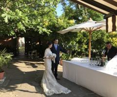 Il giardino di Villa Lina -  Arrivano gli sposi