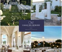 Casale del Murgese - La location ideale per il ricevimento di nozze
