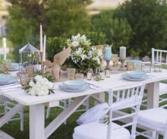 Manfredi Ricevimenti - Il tavolo per gli sposi