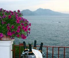 Ricevimento di nozze vista mare - Hotel Delfino Sorrento