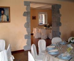 Villa Fabio - La sala del ricevimento