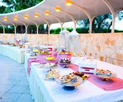 Borgo Ducale Brindisi - Il buffet dei dolci