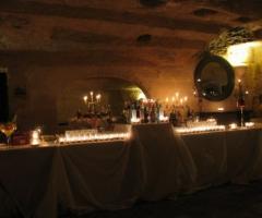 Lounge del Frantoio per gli ospiti al matrimonio