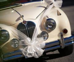Le Rose di Zucchero Filato - L'auto degli sposi