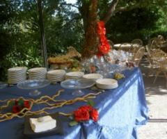 Tavoli per buffet di nozze