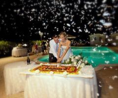 Torta e lancio coriandoli - Paola Montiglio Photography