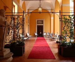 Porticato di Palazzo Cardinal Cesi