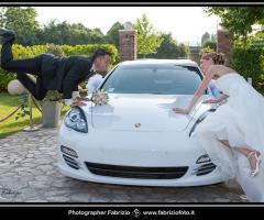 Fabrizio Foto - L'auto degli sposi