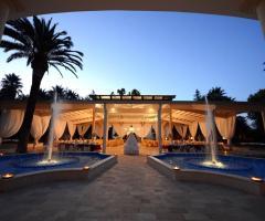 I Giardini della Corte - Vista della location di sera