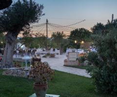 Casale del Murgese - Ricevimento di nozze di sera
