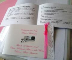 Partecipazioni e Coordinati di Tonia D'Adderio - Il libretto personalizzato