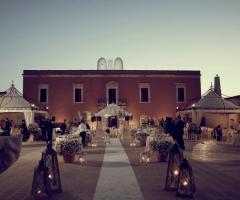 Masseria Cariello Nuovo - Il ricevimento di matrimonio di sera