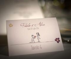 Emozioni Wedding Planner - Segnaposto