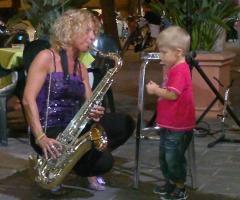 Sax Blond Letizia Brunetti - Divertimento musicale con i bambini