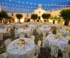 Masseria Montalbano - Allestimento serale