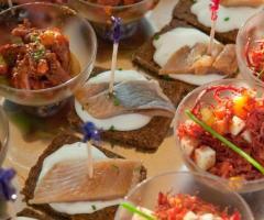 Villa Aretusi - Finger food per il matrimonio
