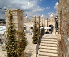 Masseria Grieco - Gli ampi spazi della masseria