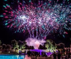 Masseria Montalbano - Fuochi d'artificio per gli sposi