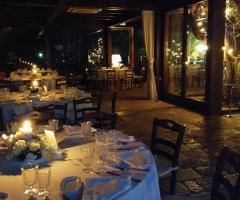 Masseria Montepaolo - I tavoli dei sera