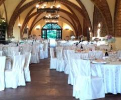 Castello di Cortanze - La grande sala ristorante