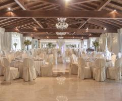 Villa Demetra - Vista del grande salone dei ricevimenti