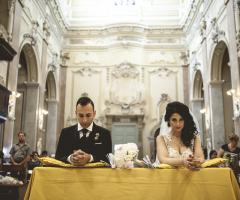 Francesco Caroli - Gli sposi in chiesa