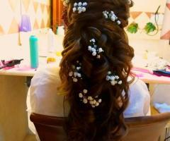 Tatiana Ruiz Make up - L'acconciatura della sposa