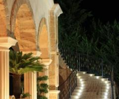 Villa Reale Ricevimenti - La scalinata illuminata