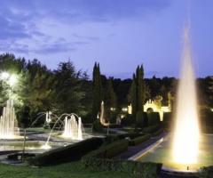 Fontane di Villa Fano del Poggio per le nozze