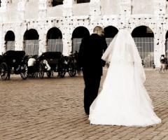 Fotografia degli sposi