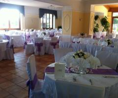 Sala interna del ristorante Bellavista per il matrimonio a Napoli