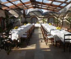 Masseria del Gelso Antico - Tutto è pronto per il rinfresco di nozze