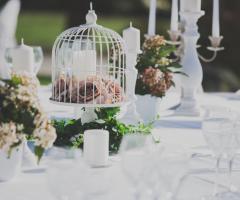 Manfredi Ricevimenti - Decorazioni floreali per i tavoli