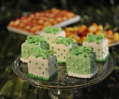 Virgilio Club - Minicake verdi e bianche per il matrimonio