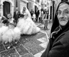 Foto in stile reportage del matrimonio