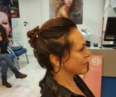 Rosa Laguardia Hair Style - Le prove nel salone di Roma