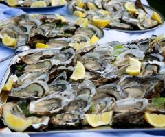 La Terra degli Aranci - Ostriche per il buffet nuziale