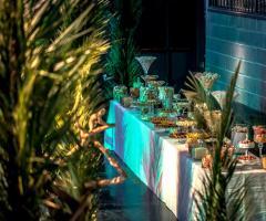 T'a Milano Catering & Banqueting - Il tavolo dei confetti e dei dolci