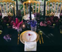 Maria Mayer Events - Allestimento tavola con i dettagli