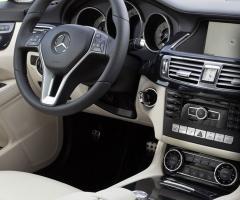 Interni della Mercedes