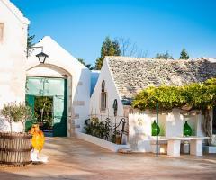 Masseria San Michele - L'entrata vista dal cortile interno