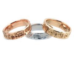 Eros Comin Gioielli - Fedi nuziali artigianali in oro a tre colori